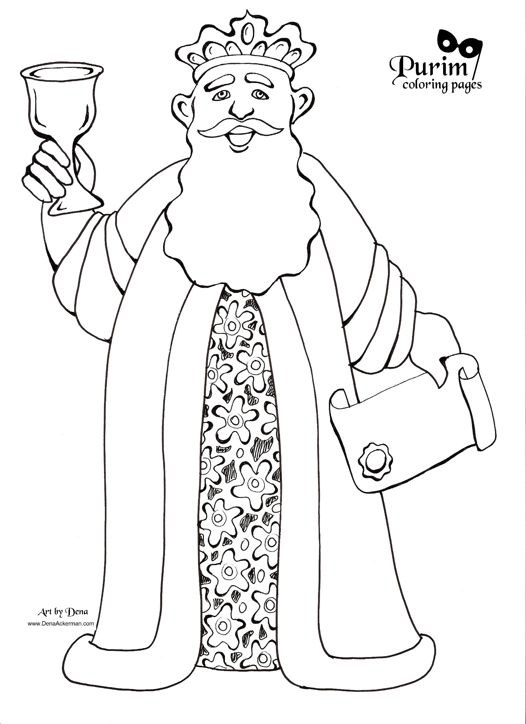 Purim Coloring Pages Unique Purim Coloring Pages  Aol Image Search Results